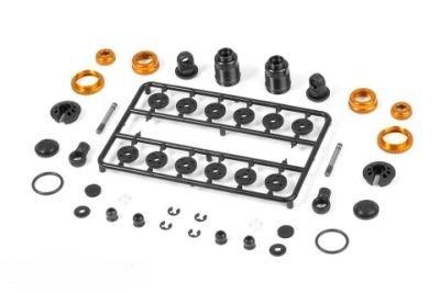 Preisvergleich Produktbild Team-Xray 308307-O T4 Stoßdämpfer-Set - Orange