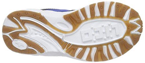 Lico BOB VS, Chaussures spécial sports en salle pour garçon Bleu (marine/blau/lemon)