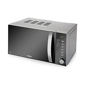 Tower T24007 Digital Microwave Featuring 60-Minute Digital Timer, 800 W - Chrome