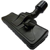 Mister vac A353 Brosse à roulettes universelle et commutable pour sols lisses ou moquettes avec articulation basculable et orientable et joint en caoutchouc 32-38 mm