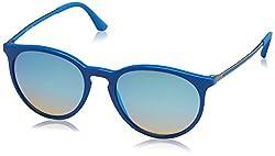 Ray-Ban Mirrored Phantos Mens Sunglasses - (0RB42746260B753|52|Mirror Gradient Grey Color)