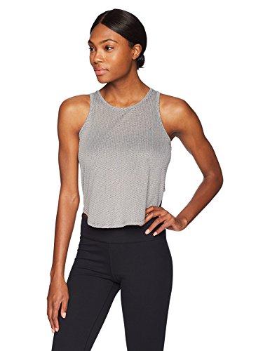 Splendid Damen Studio Workout Athletic Mesh Tank Top Yoga-T-Shirt, Academy Navy, Klein -