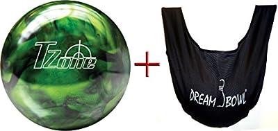 'Bowlingball–Principiantes y räum Ball T de zona Green Envy 6Lbs hasta 15Lbs + See Saw Saco de balón para limpiar