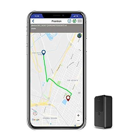 GPS Tracker, Kimfly Magnet Mini GPS Tracker mit Free App GPS Locator Anti-Thief Echtzeit GPS Tracking für Tasche Brieftasche Taschen Schulranzen Wichtige Kinder Auto