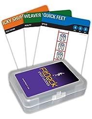 FitDeck Tarjetas de escalera de velocidad–Baraja de cartas de ejercicio (26)