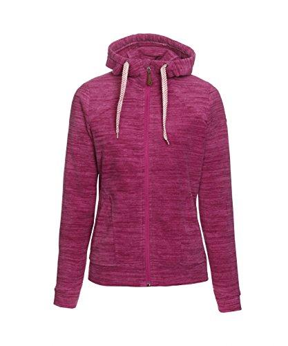 Michaelax-Fashion-Trade - Blouson - Gilet en maille - Uni - Manches Longues - Femme Pink (00442)