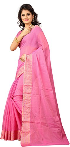 Sarees For Women Party Wear Offer Bollywood Designer Collection Low Price Plain Cotton Silk Saree(sari)  available at amazon for Rs.225