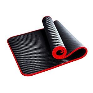 YJD Anfänger-Yoga-Matte/Yoga-Matte/Länge 1830 * Breite 800 * Dicke 10mm/Fitness-Matte/Pilates/Gymnastikmatte/Gymnastik-Trainingsmatte GHJ