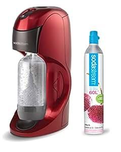 Sodastream Dynamo Machine à Eau pétillante et soda - Rouge