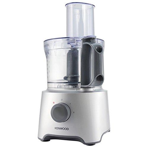Kenwood FDP301SI MultiPro Compact Robot da Cucina, 800 W, 2.1 Litri, Argento