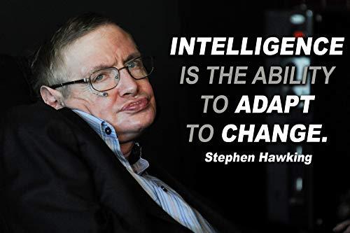 Stephen Hawking Poster mit Zitaten, Physik, Wissenschaft, Klassenzimmer, Wachstum, Mindset, Mathematik, Lehrer, Wandkunst, Inspirierende Mindsets, Kunstwerk, Zitat, Elementarlehrer, Lehrer P035