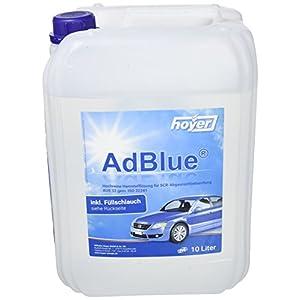 Hoyer AdBlue Hochreine SCR Harnstofflösung ISO 22241, 10 Liter