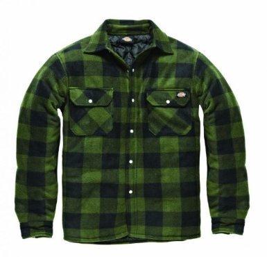 Dickies -  Camicia Casual  - Uomo Verde/nero M