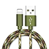 Superior for iPhone Cable ZRL® Metal Braided Wire Sync Data Charger USB Cable for iPhone X/8/8 Plus/7/7 Plus/6s/6s Plus/