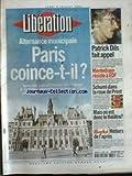 LIBERATION [No 6260] du 02/07/2001 - ALTERNACE MUNICIPALE - PARIS COINCE-T-IL - PATRICK DILS FAIT APPEL - MONTEDISON RESISTE A EDF - SCHUMI DANS LA ROUE DE PROST - MAIS OU EST DONC LE THEATRE.