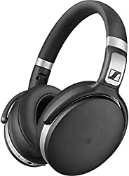 Sennheiser HD 4.50 Bluetooth Wireless Headphones with Active Noise Cancellation, Black and Silver(HD 4.50 BTNC