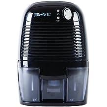 Duronic DH05 - Mini deumidificatore nero 500ml - Perfetto per piccoli ambienti
