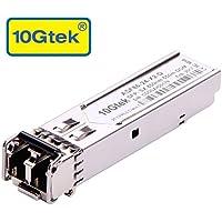 10Gtek® para HP X121 1G SFP SX Multimodo J4858A/ J4858B/ J4858C, 1000Base-SX Gigabit SFP LC Módulo Transceiver, MMF, 850nm, 550m