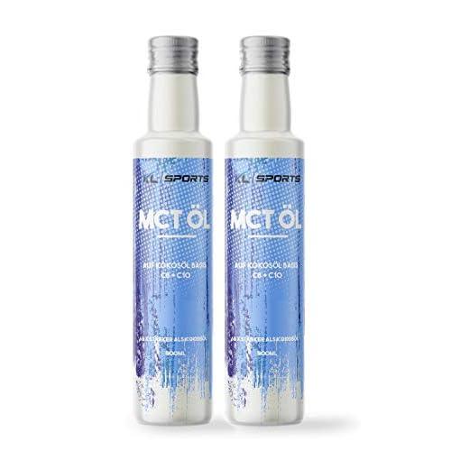 Kl Sports Mct L In Glasflasche 1000ml Vegan Premium Qualitt Auf Kokoslbasis C8 Caprylsure Und C10 Caprinsure Bulletproof Coffee Vom Hersteller Kruterland 2x500ml