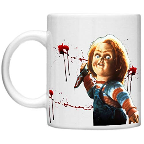 Childs Play, Retro, Classic Movies, Good Guy Dolls, Chucky, Childs Play Design Microwave Dishwasher Safe 11oz Mug Cup