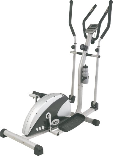 Buffalo Elliptical Trainer Franklin, silber/schwarz, 60764