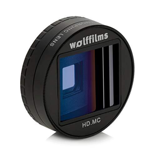 Wolffilms Anamorphic Lens Smartphone Objektiv für breite anamorphe Videos im Kino Filmlook Breite Video