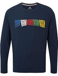 Sherpa 94 Tarcho - Camiseta de Manga Larga, SM3149-392-L, Rathee, Large