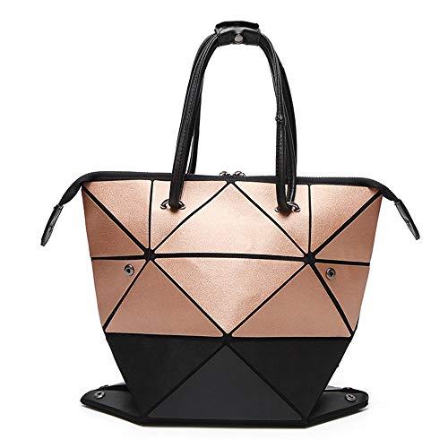 Rinalay Handtaschen Japanischer Diamant Alle 5 Farben Neue Perle Verschiedene Pakete Lackleder Mode Living Helle Handtasche Rubik Cube Tasche Flut Handtasche Taschen