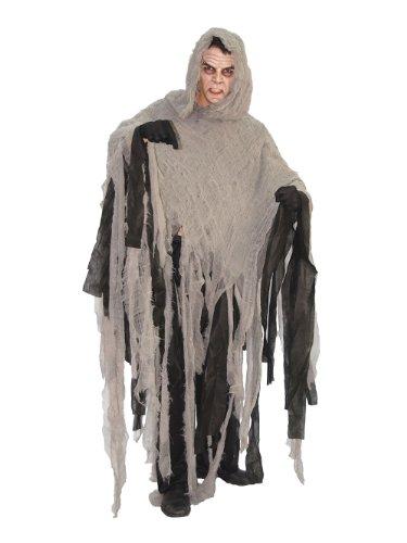 Guirca costume vestito uomo delle tenebre zombie halloween adulto 80171