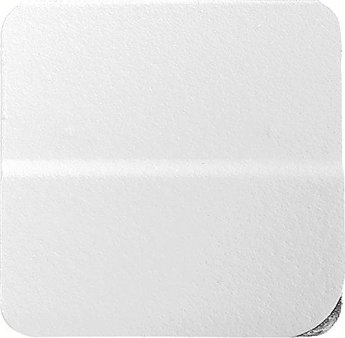 Exacompta 134802B Packung (mit 50 Doppel Kartenreiter, ideal für Ihre Organisation, geeignet für Karteikarten, 15 mm) 1er Pack weiß