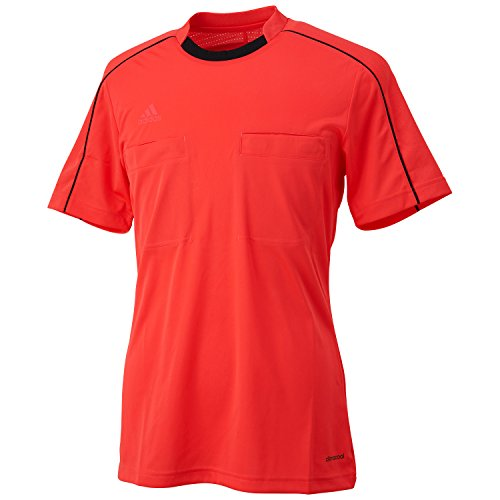 adidas Unisex Trikot Referee 16, shock red/black, L, AJ5915