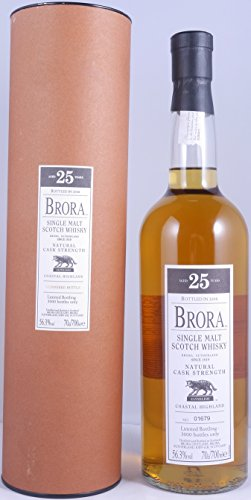 brora-25-years-2008-7th-release-cask-strength-single-malt-scotch-whisky-563-vol-one-of-3000-bottles