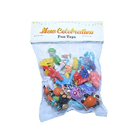 24pcs Pokemon Mini Figur zufällige Spielzeug Action Figur Party Tasche Fillers