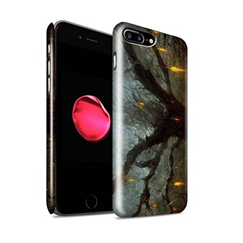 Offiziell Chris Cold Hülle / Glanz Snap-On Case für Apple iPhone 7 Plus / Pack 8pcs Muster / Gefallene Erde Kollektion Baum des Wissens