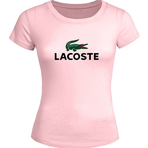LACOSTE Logo Printing For Ladies Womens T-shirt Tee Outlet
