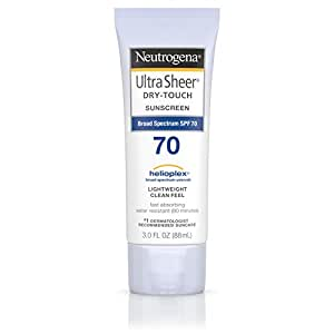 Neutrogena Ultra Sheer Dry-Touch Sunblock SPF-70 for Unisex, 88ml