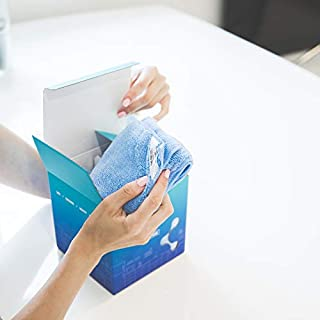 Nano Towels NanoCare The Revolutionary New Fabric Technology That Cleans with Only Water ( 1 towel ) No Chemicals