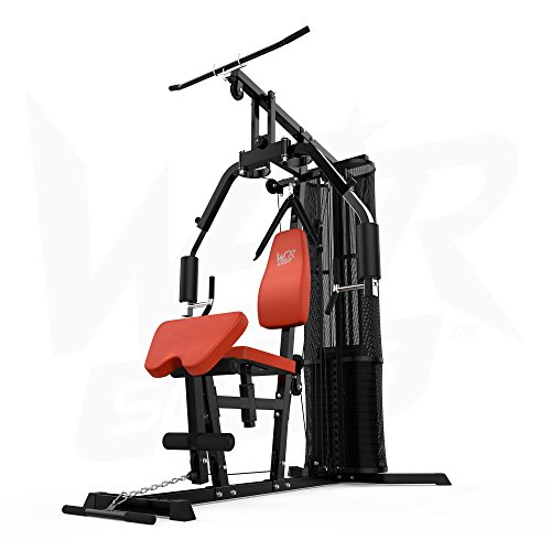 We r sports home multi gym chest arms back shoulder triceps