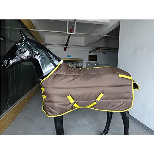 LOVEPET Winter Verdicken Pferdedecke Innen- 420D Oxford Tuch 280G Versicherte Baumwolle Warm Und Gemütlich