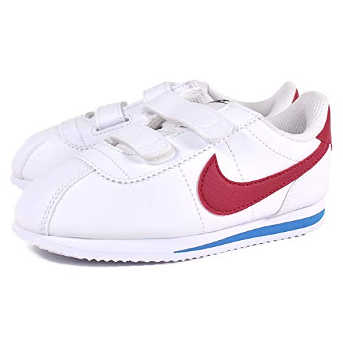 more photos 504db cedff Nike Cortez Basic SL (TDV) Chaussures de Running Compétition Mixte Enfant,  Blanc (