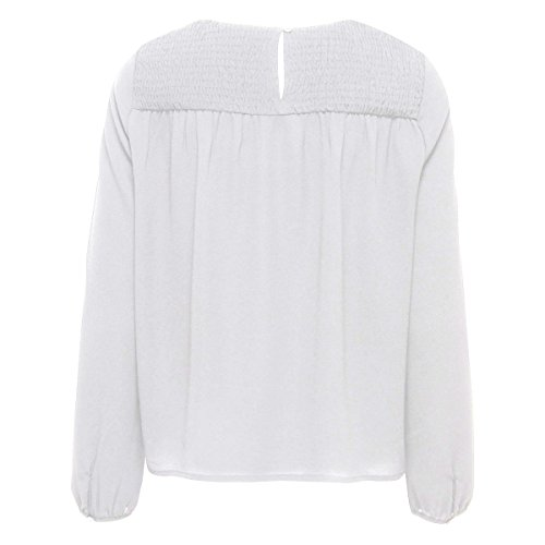 Only -  T-shirt - Donna Bianco