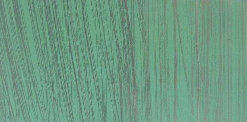 Verzierwachsplatte 'Multicolor-mint-silber gestreift' 20/10 cm - Wachsplatte bunt - 9791 - zum...