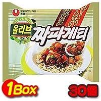 de oliva comida coreana Japa Getty 1 caja (140gx30 piezas) Fuente de Corea del estilo de jar jar fragante Nongshim