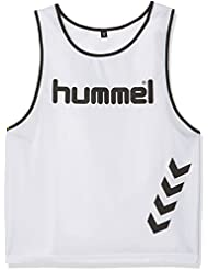 Hummel Fundamental Training - Camiseta de entrenamiento, color blanco, talla XL