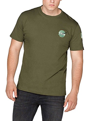 alpha-industries-t-shirt-uomo-dark-green-large