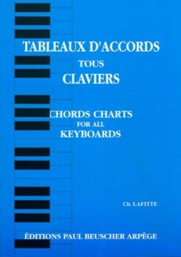 Tableaux d'accords pour claviers par Charles Lafitte