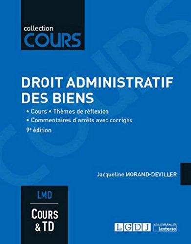 Droit administratif des biens, 9ème Ed.