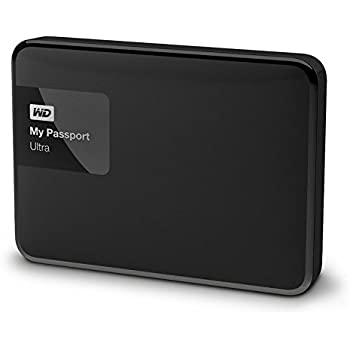 "WD My Passport Ultra - Disco Duro Externo portátil de 1 TB (2.5"", USB 3.0), Color Negro"