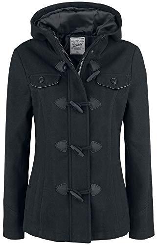 Brandit Manteau Duffle-Coat Femme Parka Noir XXL