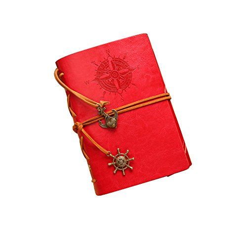 jn-vintage-fashion-style-leather-cover-notebook-journal-diary-blank-string-nautical-red